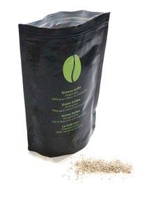Groene (ongebrande) koffie - 250 gram, fijngemalen en onbespoten