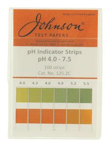 pH meetstrips urine en speeksel