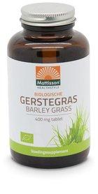 Gerstegras barley grass Europa biologisch 400 mg voor zuur-base balans bio 350 tabletten (Biologisch)
