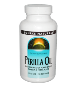 Source Naturals Perilla Oil - 1000mg - 100% plantaardig