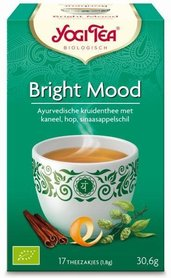 Biologische Bright Mood thee, Yogi Tea