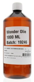 Wonderolie Frans (Ricinus) 1000 ml