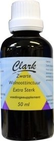 Zwarte walnoottinctuur extra sterk Clark 50 ml