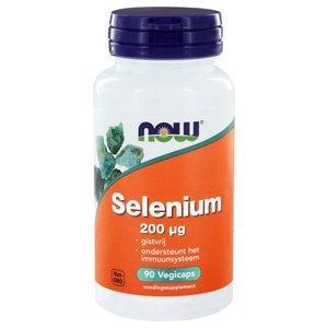 NOW Selenium gistvrij 200 mcg