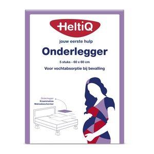 Onderlegger ter bescherming van bed bij darmspoeling 60x60 cm HeltiQ