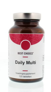 multi vitaminen mineralen complex - 120 tabletten