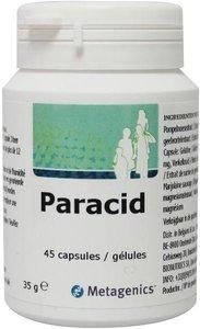 Paracid Metagenics 45 capsules