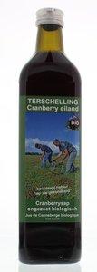 Terschellinger cranberrysap bio ongezoet
